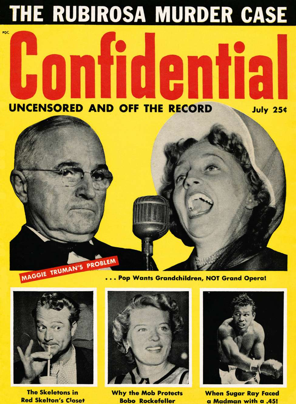 Comic Book Cover For Confidential v02n03