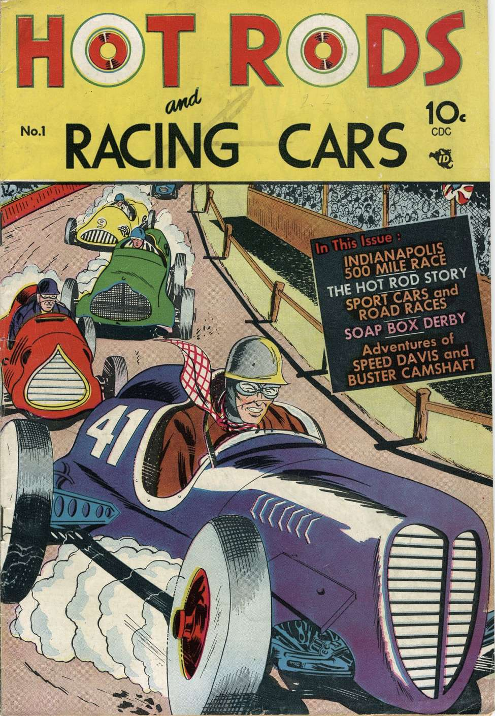 Hot Rods And Racing Cars Charlton Comic Book Plus