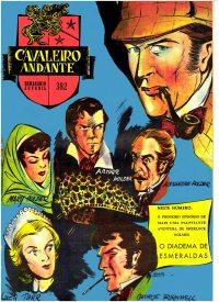 Large Thumbnail For Sherlock Holmes in O Diadema Esmeraldas