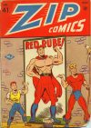 Cover For Zip Comics 41