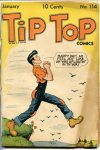Cover For Tip Top Comics 114