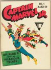 Cover For Captain Marvel Jr. 5 (17 fiche)