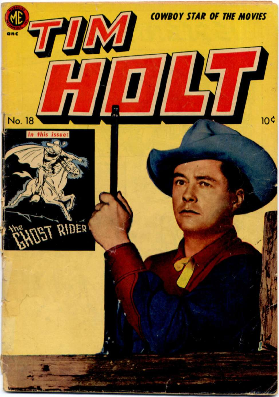 Comic Book Cover For Tim Holt #18