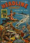 Cover For Headline Comics 60