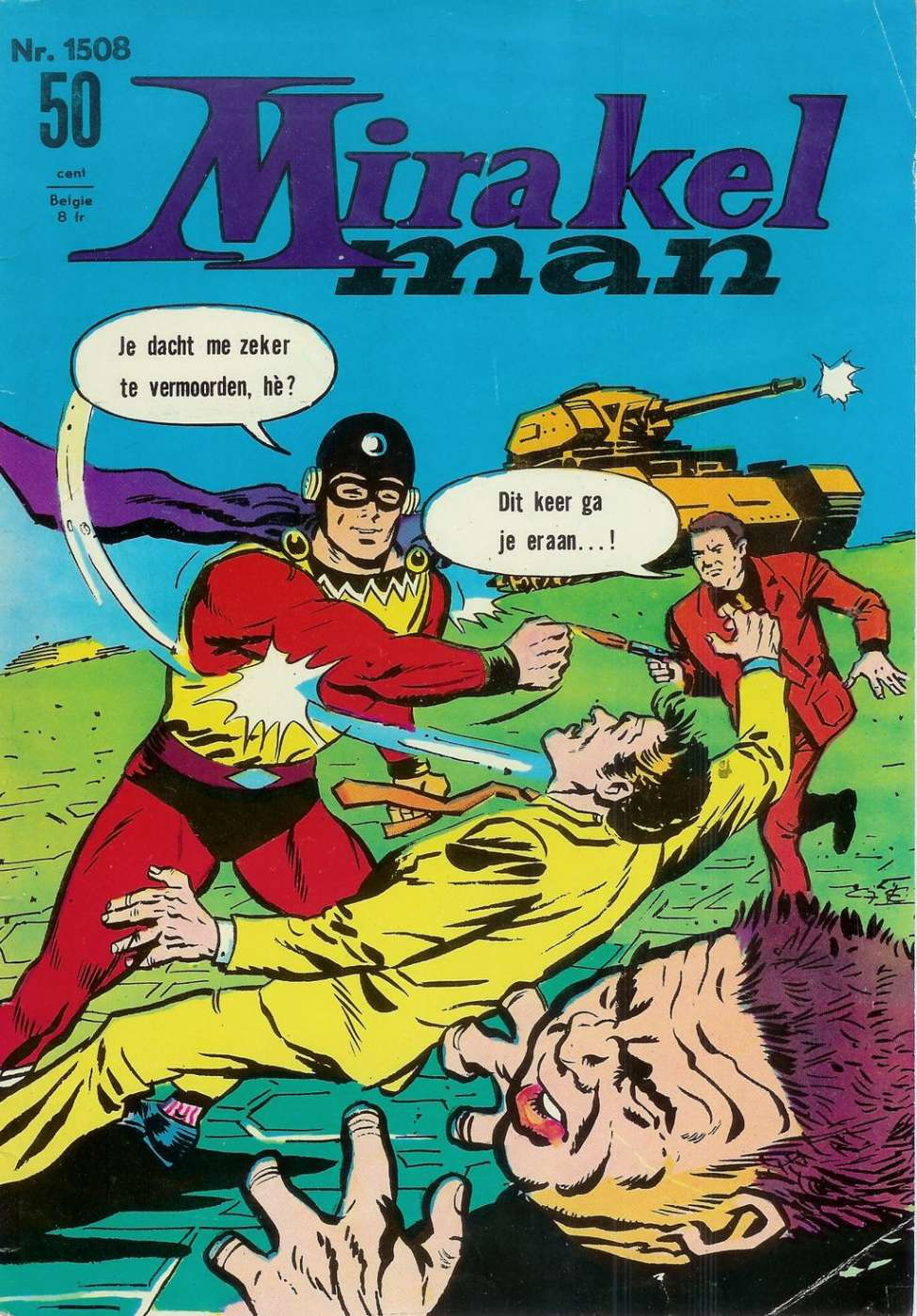 Comic Book Cover For Mirakelman #1508