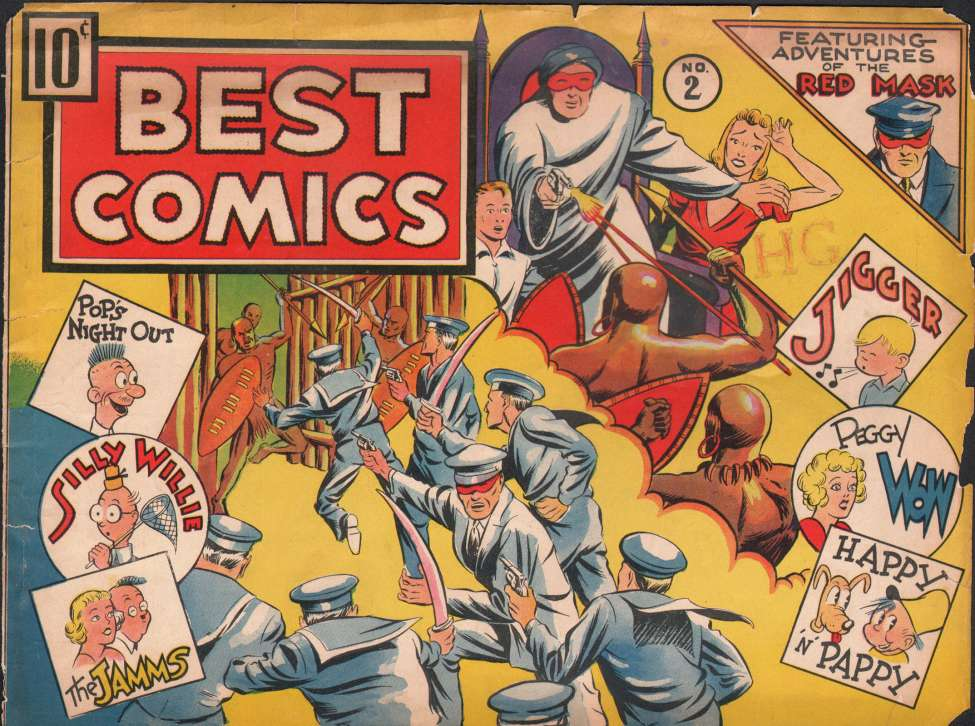 Comic Book Cover For Best Comics #2