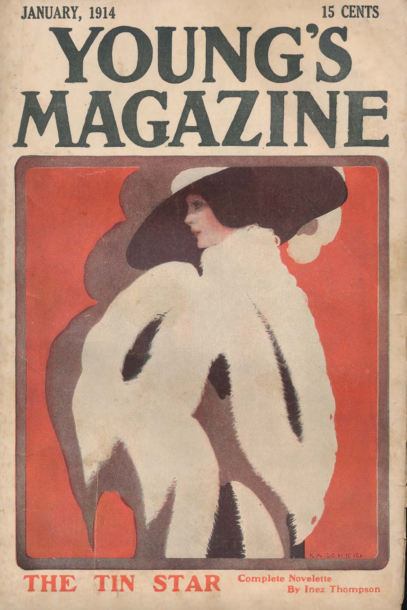 Comic Book Cover For Young's Magazine v27 01