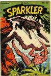 Cover For Sparkler Comics 50