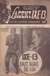 Cover For L'Agent IXE 13 v2 109 IXE 13 fait rire de lui
