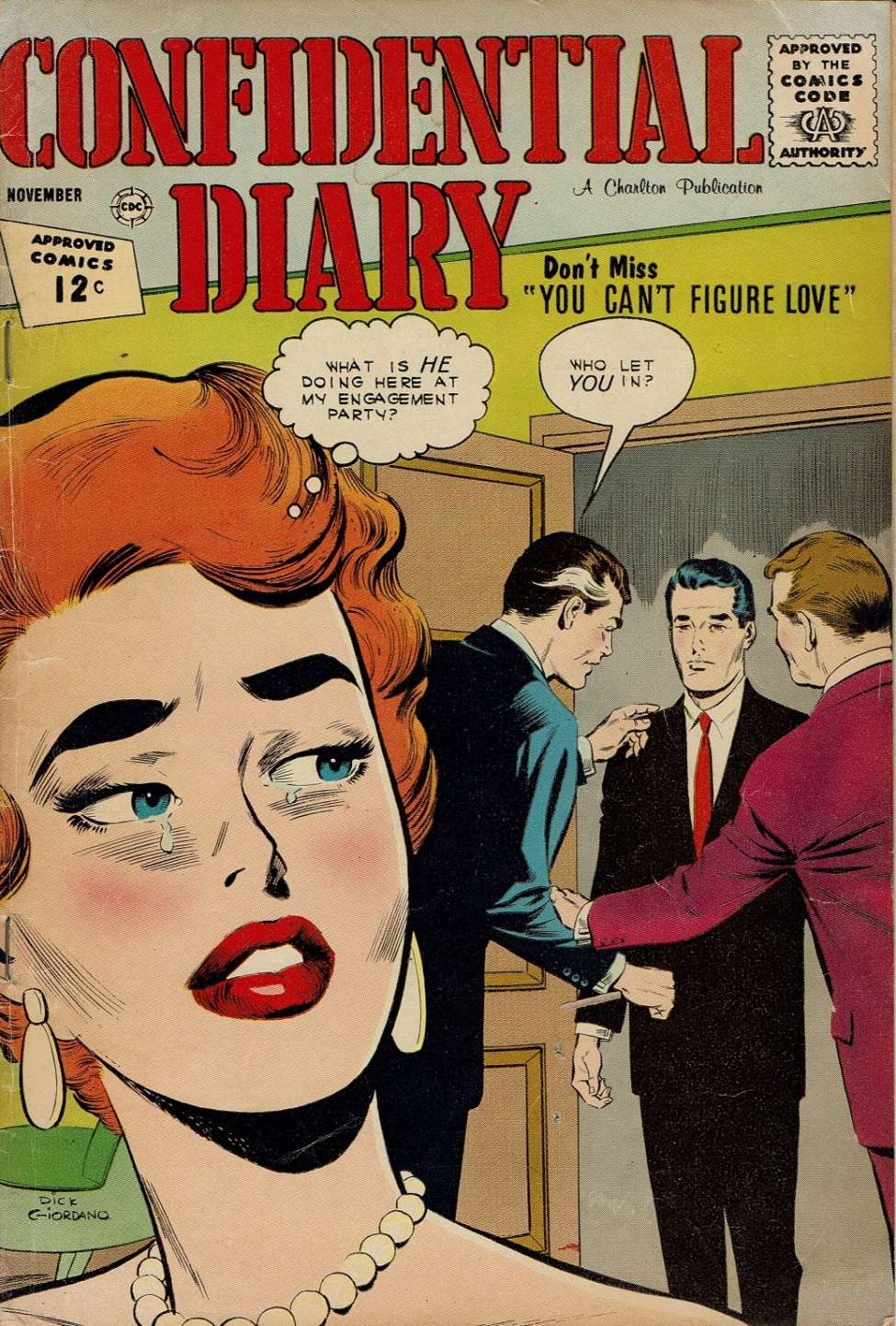 Comic Book Cover For Confidential Diary #15