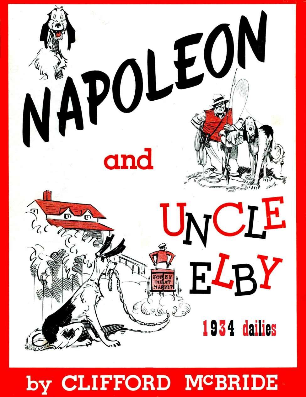 Comic Book Cover For Napoleon 1934 dailies