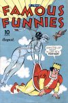 Cover For Famous Funnies 121