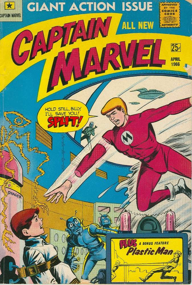 Comic Book Cover For Captain Marvel 1 (inc)