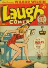 Cover For Laugh Comix 47