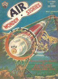 Large Thumbnail For Air Wonder Stories 04 - The Sky Maniac - Henrik Dahl Juve