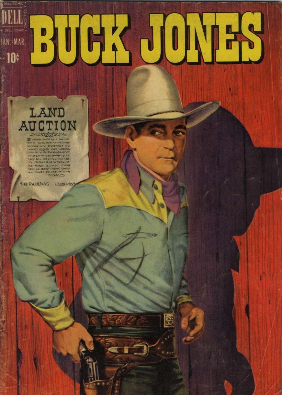 Comic Book Cover For Buck Jones #5