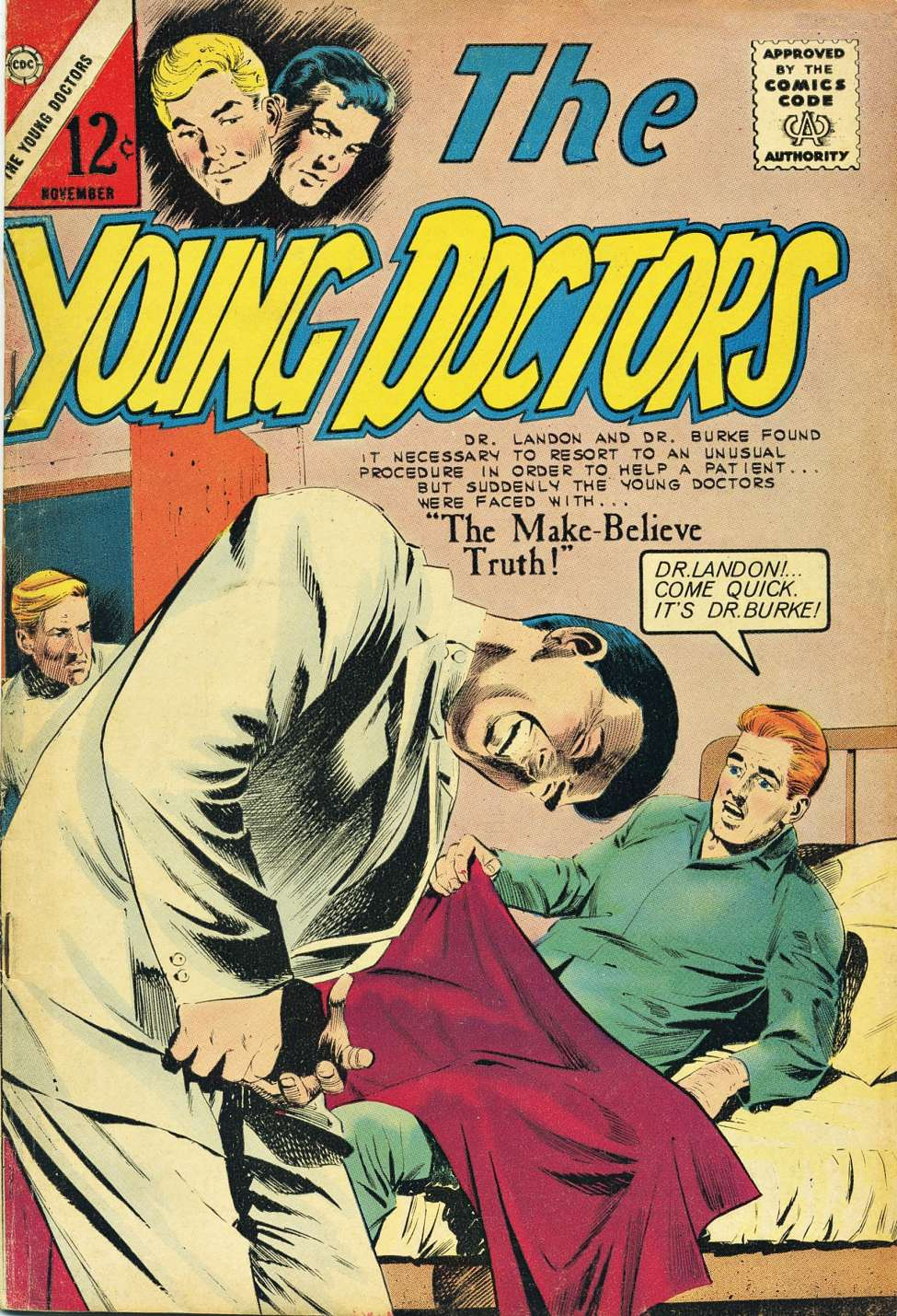 Comic Book Cover For The Young Doctors #6
