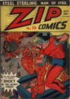 Cover For Zip Comics 10