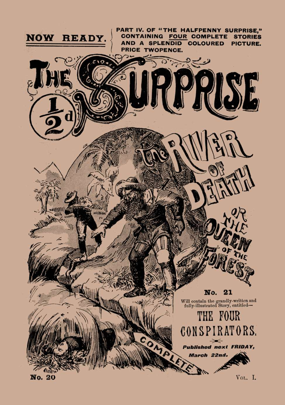 Comic Book Cover For Halfpenny Surprise 20