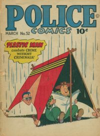 Large Thumbnail For Police Comics #52