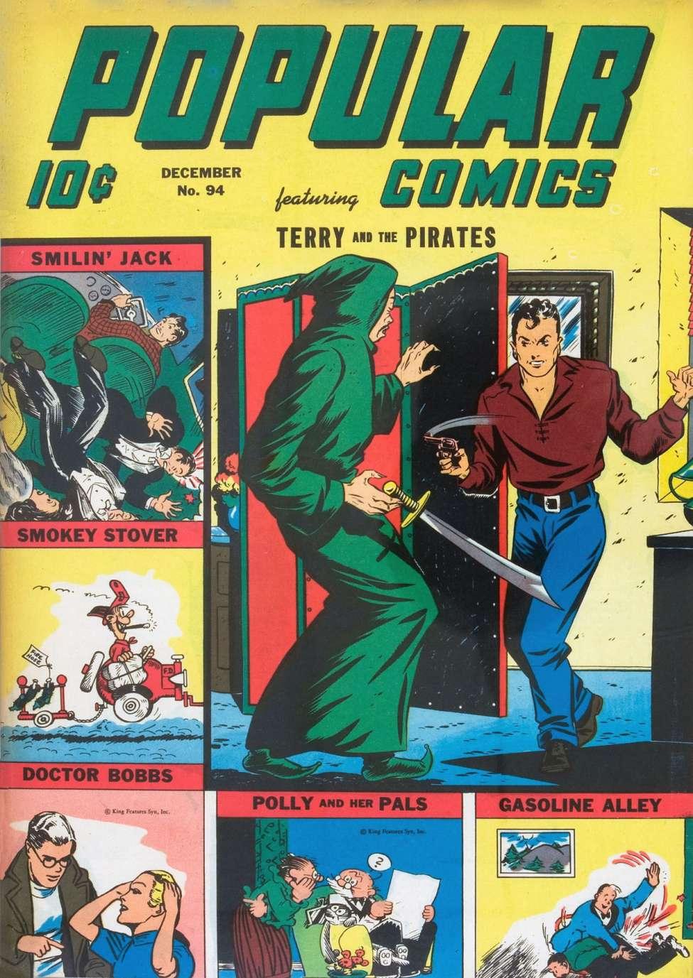 Comic Book Cover For Popular Comics #94