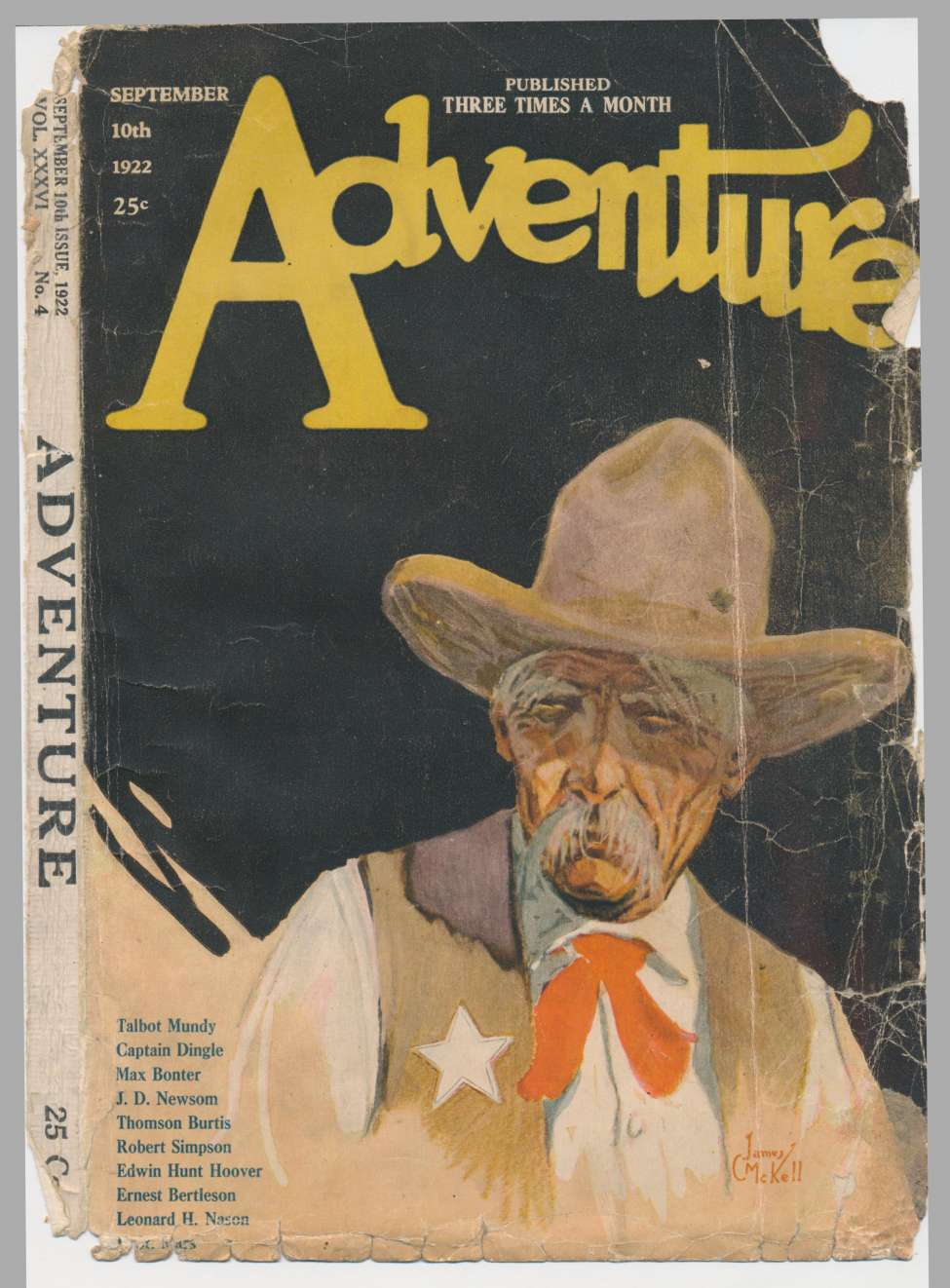 Comic Book Cover For Adventure v036 04