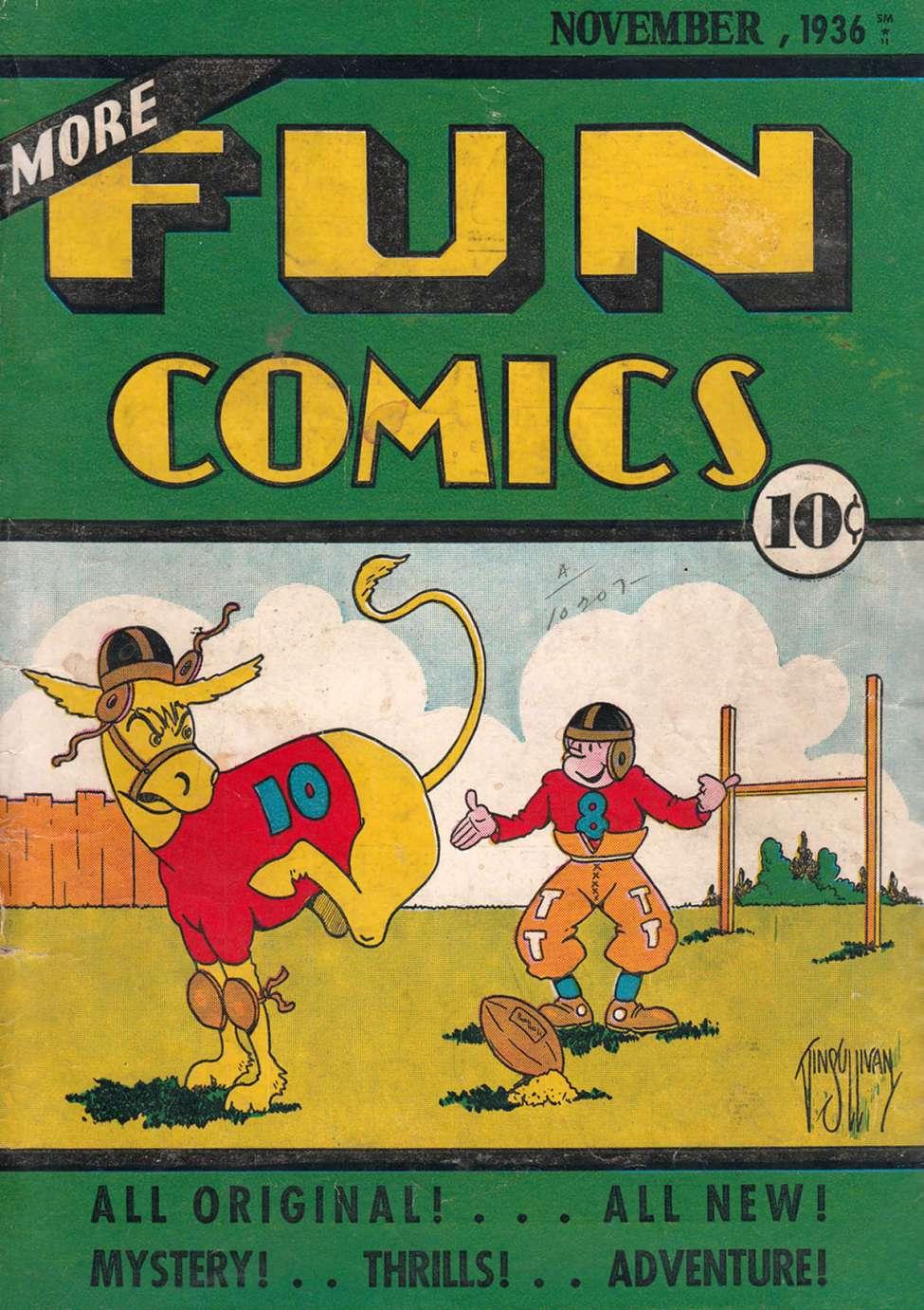 Comic Book Cover For More Fun Comics v2 3 [15]