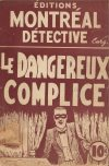 Cover For Domino Noir 8 Le dangereux complice