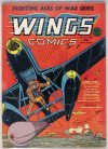 Cover For Wings Comics 5