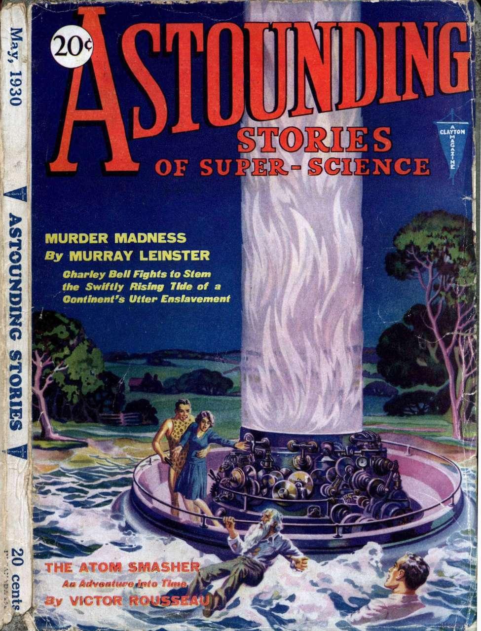 Comic Book Cover For Astounding v02 02 - Murder Madness - Murray Leinster