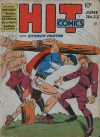 Cover For Hit Comics 22