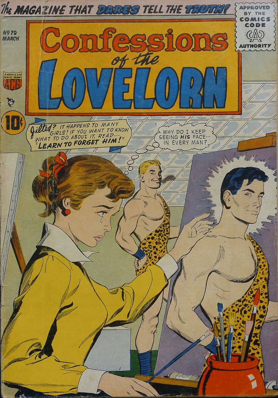 Comic Book Cover For Confessions of the Lovelorn #79