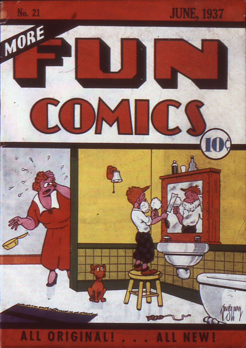 Comic Book Cover For More Fun Comics v2 9 (21)