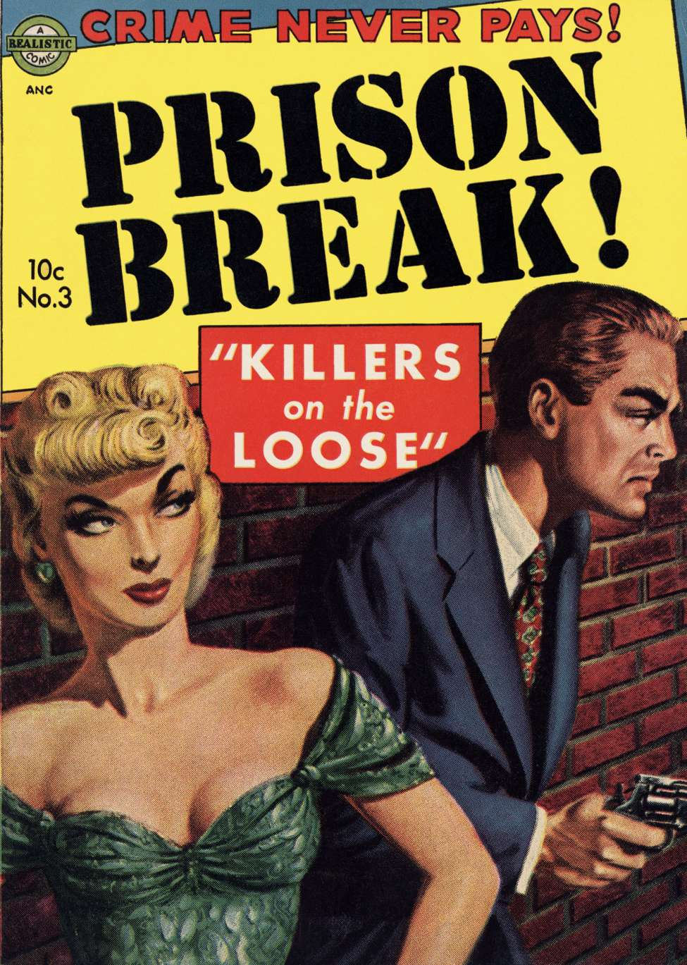 Comic Book Cover For Prison Break! #3