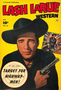 Large Thumbnail For Lash Larue Western #33
