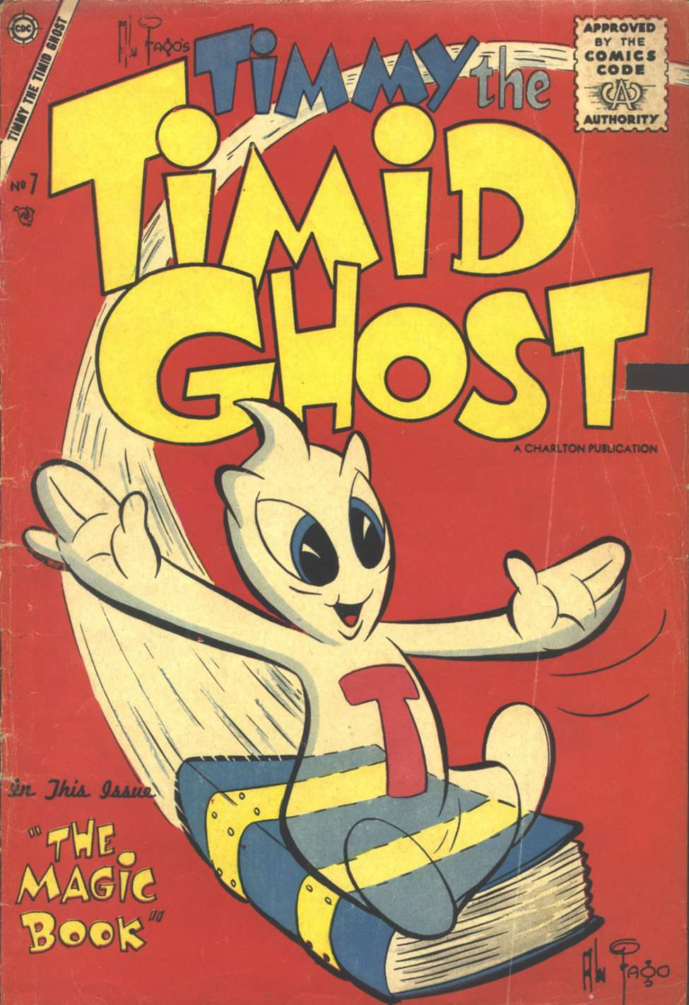 Comic Book Cover For Timmy the Timid Ghost #7