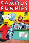 Cover For Famous Funnies 140