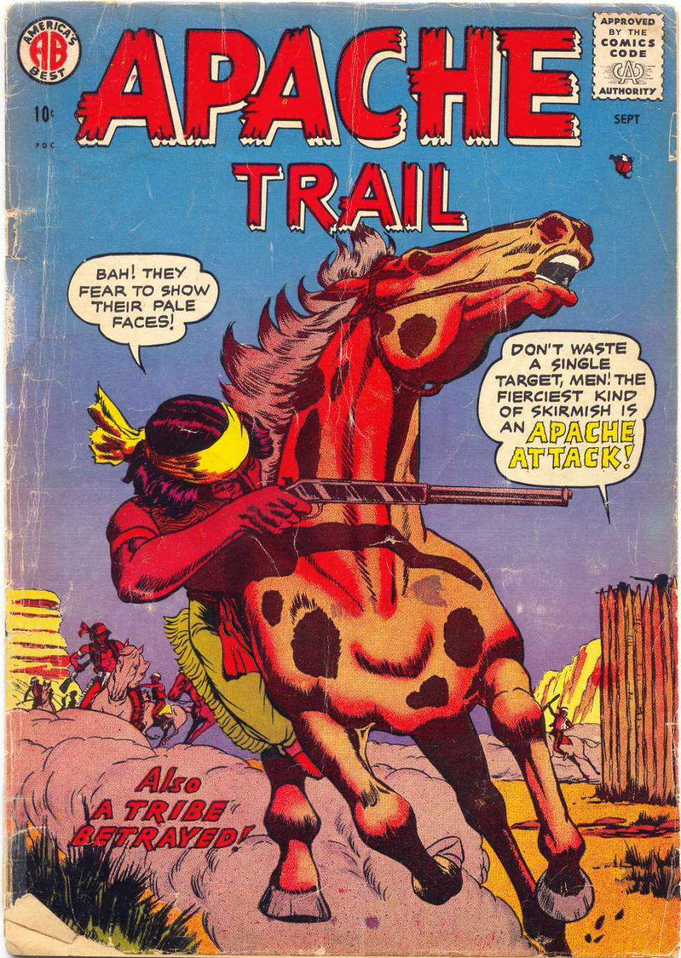 Comic Book Cover For Apache Trail #1