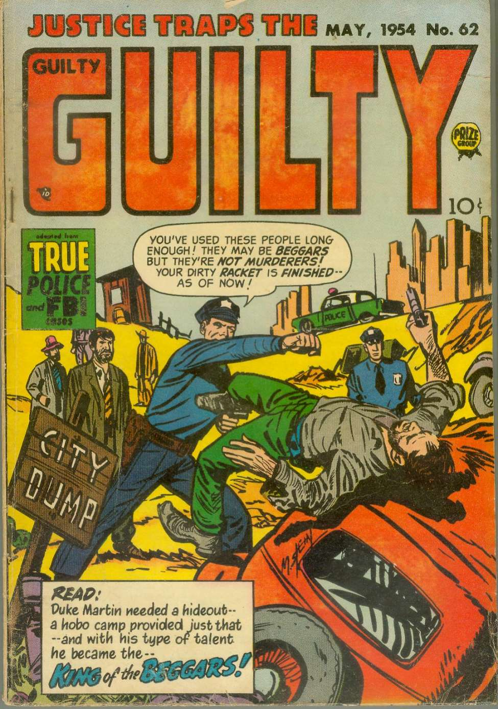 Comic Book Cover For Justice Traps the Guilty v7 8 (62)
