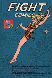Large Thumbnail For Fight Comics #70