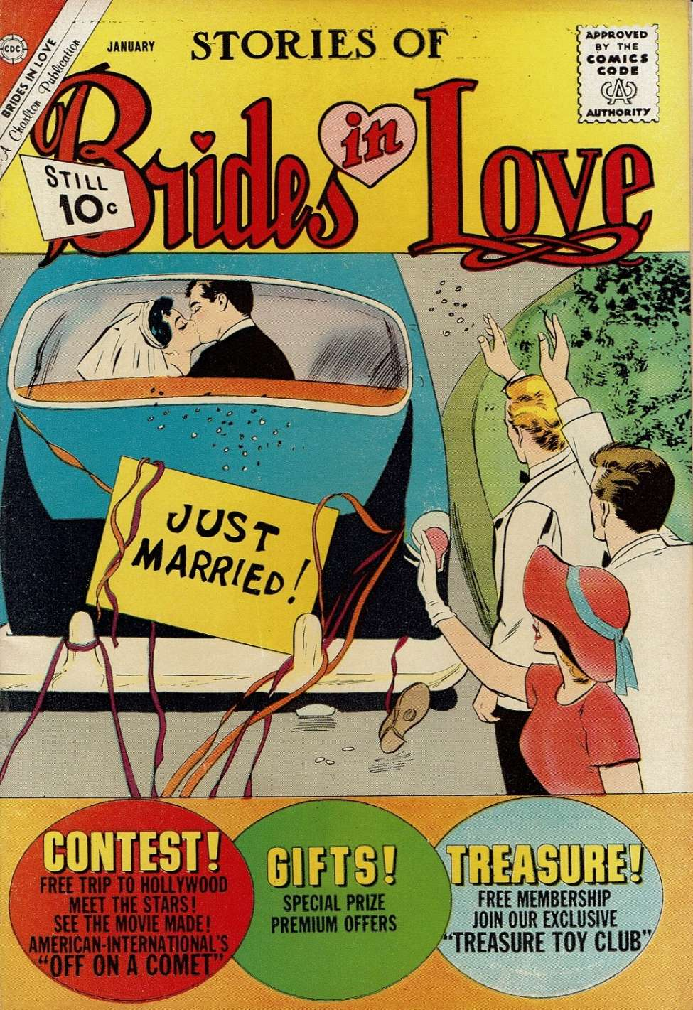Comic Book Cover For Brides in Love #28