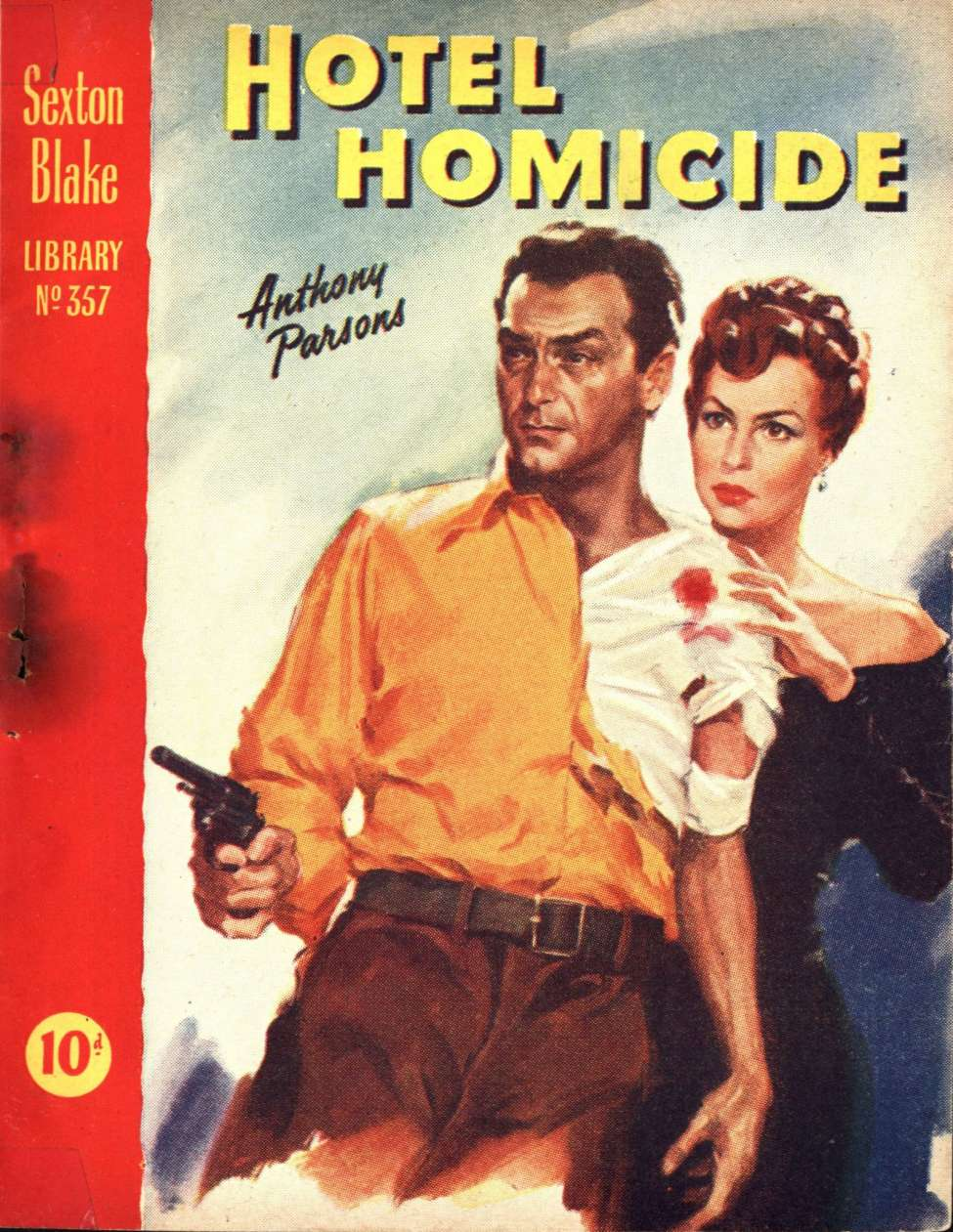 Comic Book Cover For Sexton Blake Library S3 357 - Hotel Homicide
