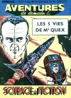 Cover For Aventures de Demain 9 Les 5 vies de Mr Quex