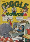Cover For Giggle Comics 36