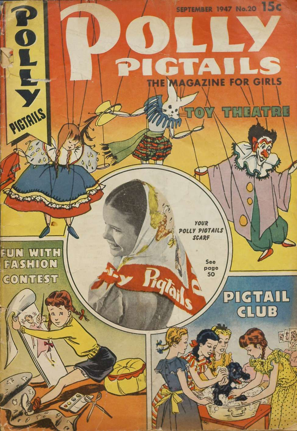 Comic Book Cover For Polly Pigtails #20