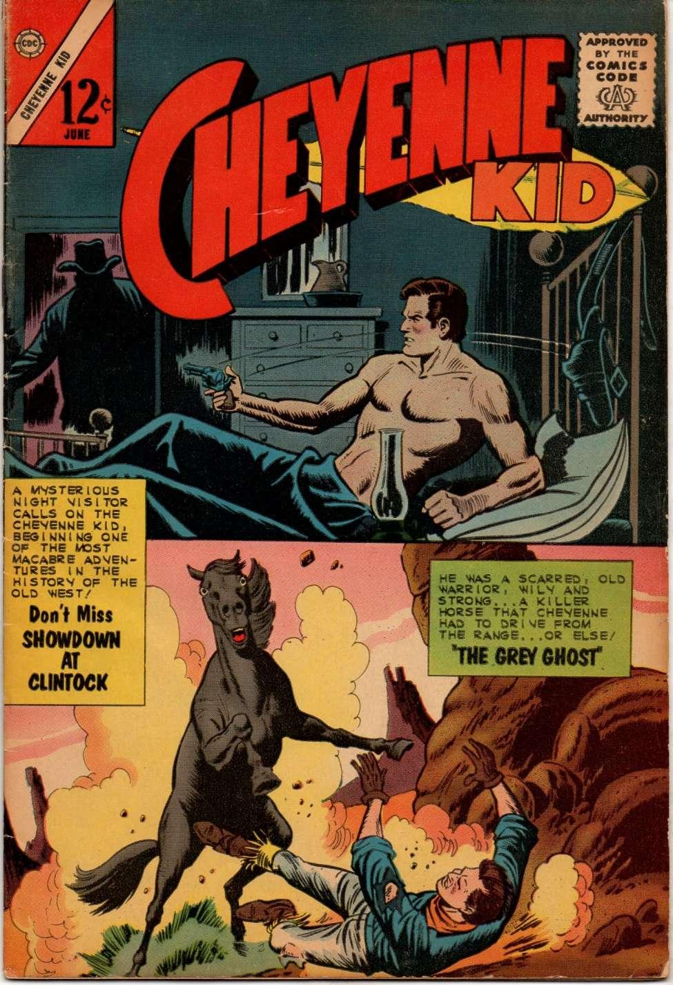 Comic Book Cover For Cheyenne Kid #40