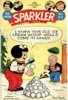 Cover For Sparkler Comics 92