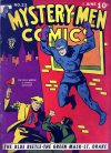 Cover For Mystery Men Comics 23