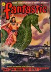 Cover For Fantastic Adventures v13 5 Invasion from the Deep Paul W. Fairman