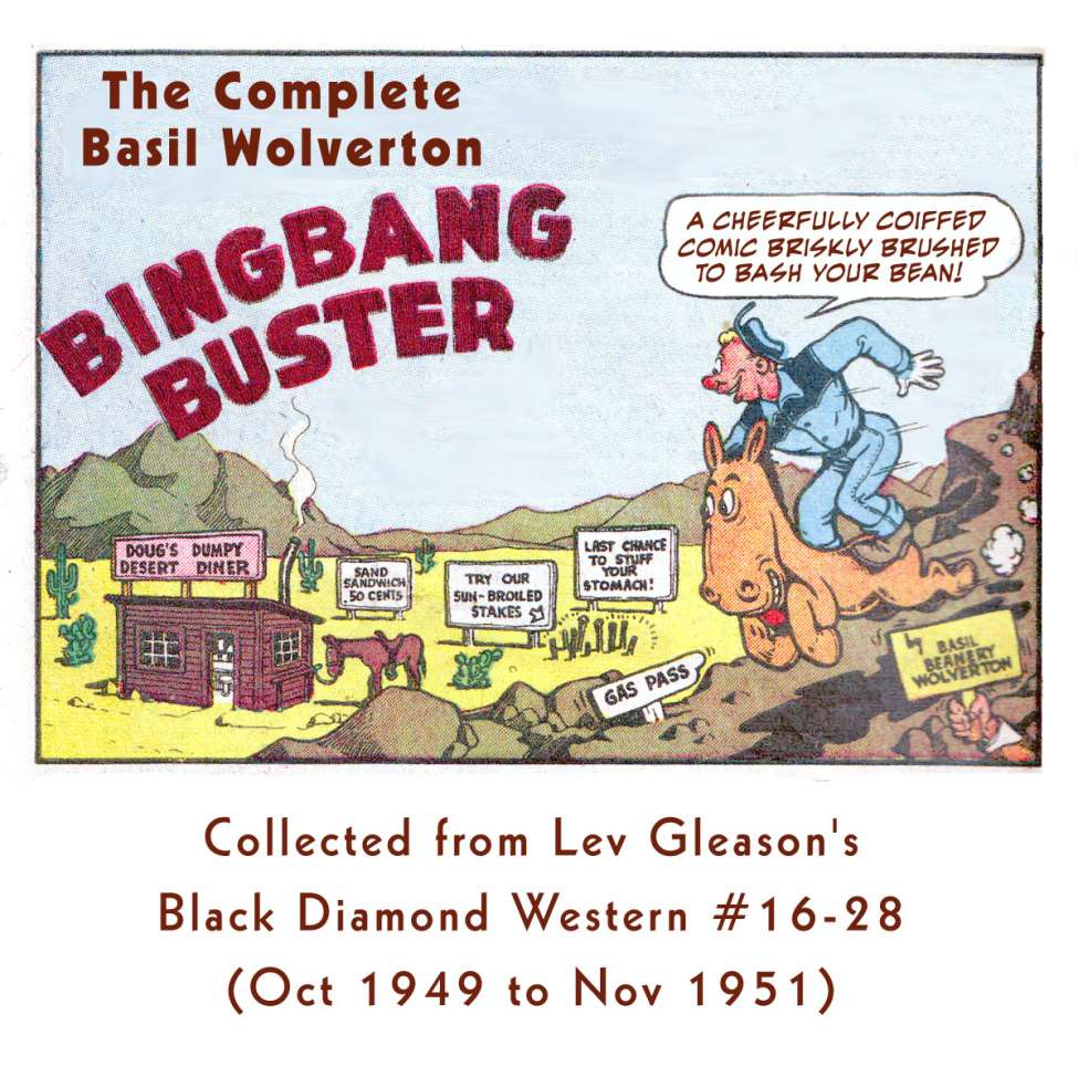 Comic Book Cover For BingBang Buster by Wolverton Collection